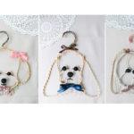 愛犬ハンガーmylovelydog hanger(左・トイプードル/中央・アメリカンコッカースパニエル/右・シーズー)