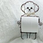 愛犬ペーパー&ツールホルダー/ トイプードル